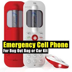 Emergency Cell Phone For Bug Out Bag or Car Kit,survival gear,emergency,shtf,prepping,teotwawki,doomsday,