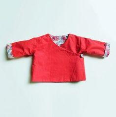 Brassière cache-coeur réversible pour bébé {tuto} - Couture - Pure Loisirs