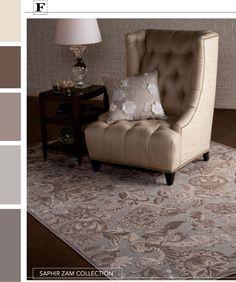 Saphir Zam Collection Color Palette