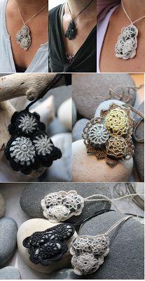 Gargantillas de Crochet Artisticas