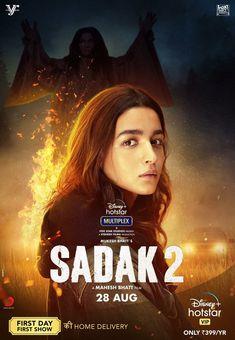 """Asli himmat woh hoti hai, jo darr ke bawajood bhi, jutaani padti hain""  #Sadak2 Trailer out tomorrow. Stay tuned!   #sanjaydutt #AdityaRoyKapur  #poojabbhatt #MukeshBhatt #SuhritaSengupta New Movies 2020, Latest Movies, Movie Categories, Disney Plus, Full Movies Download, 2 Movie, Hindi Movies, Alia Bhatt, Bollywood Actors"