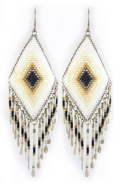 Aura earrings, Jody Singleton
