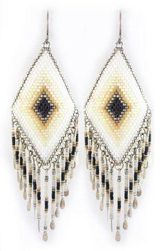 Aura earrings, Jody Singleton