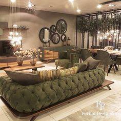Living Room Sofa Design, Home Room Design, Living Room Interior, Home Living Room, Home Interior Design, Living Room Designs, Classy Living Room, Elegant Home Decor, House Rooms