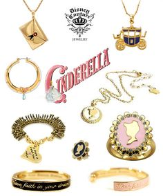 Posted to Disney Couture: Cinderella Disney Princess Jewelry, Disney Couture Jewelry, Disney Jewelry, Disney Inspired Outfits, Disney Outfits, Disney Style, Disney Fashion, Emo Outfits, Pandora Bracelets