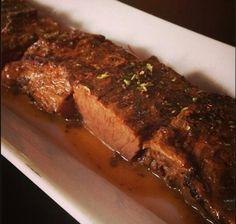 #cocinachilena Carne plateada en sus jugos.demi glace de carmenere.papas a las finas hierbas Final de semana en #gastrohouse con #chefatvalley #reservayaa #73901502.