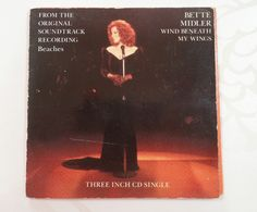 Bette Midler Wind Beneath My Wings 3 Track Three Inch Mini CD Gate-Fold Sleeve