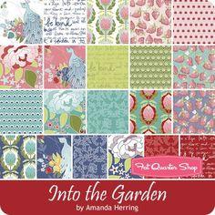 (coming 10/16) Into the Garden Fat Quarter Bundle <br/>Amanda Herring for Riley Blake Designs
