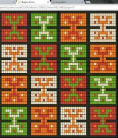 Wayuu Mochilla Bag Chart 78