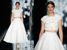 Image result for skirt and top wedding dress