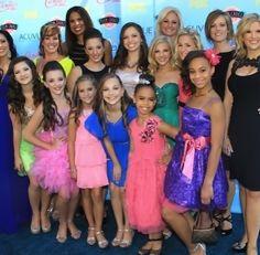 Dance moms cast at the teen choice awards 2013