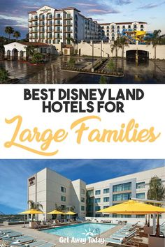 Disneyland is the quintessential family vacation destination for families of all sizes. Because of this, there are so many hotels nearby. With so many options, there's a hotel for any family size on any budget. Best Hotels Near Disneyland, Hotels Near Disney World, Disneyland Vacation, Disney Hotels, Atlanta Hotels, Chicago Hotels, Panama City Beach Florida, Panama City Panama, Family Vacation Destinations
