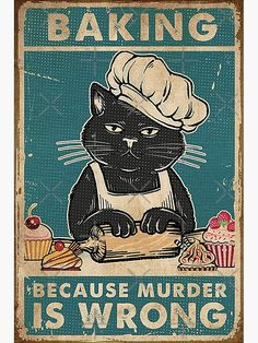Man Cave Wall Decor, Vintage Tin Signs, Vintage Metal, Retro Vintage, Cat Posters, Movie Posters, Cat Lover Gifts, Crazy Cats, Cat Art