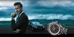 David Beckham Named The New Face of Breitling for Bentley David Bailey Photography, Breitling Bentley, Every Man, Second World, Luxury Watches For Men, New Face, David Beckham, Watch Brands, Luxury Travel