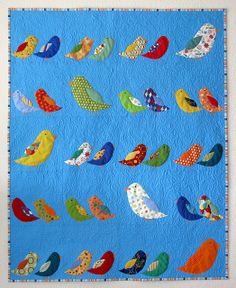 Bird Crossing (Birds of a Feather) by Feed Dog, via Flickr