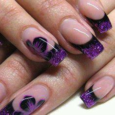 Stylish Nail Art Designs Collection 2014  | See more nail designs at…