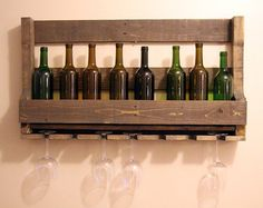 58 Best Unique Wine Racks Images On Pinterest Cellars Wall Mounted Gl Rack