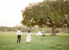 Wildly romantic Santa Barbara engagement: