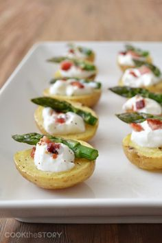 Cute little Baked Potato Bites | Potato Appetizer Recipe | Potato Goodness