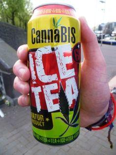 Cannabis ice tea.