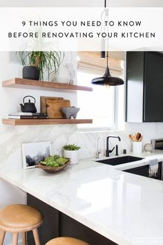 Before you start Demo Day, you need these kitchen renovation tips.