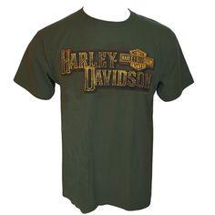 Harley-Davidson Old Fangled Men's Green Dealer Tee