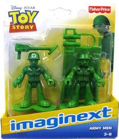 Amazon.com: Imaginext Toy Story Army Men Figures: Toys & Games