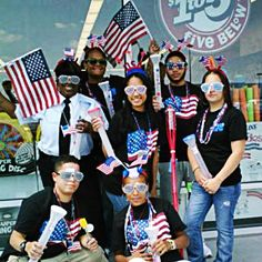 Happy 4th of July from the Five Below Aramingo crew!