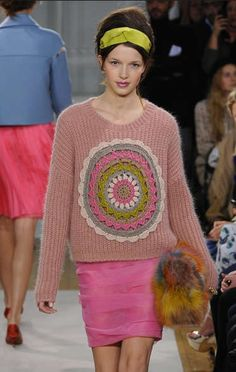 Franco Moschino Fall '12 #Crochet Sweaters