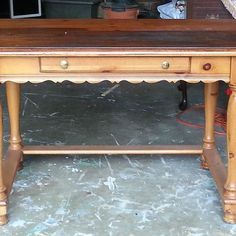 Restyled French country farmhouse desk.