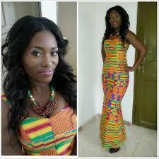 Image result for Ladies in kente wears