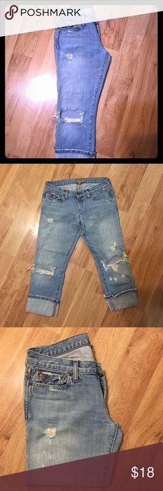 Abercrombie Vintage Capri jeans Vintage Capri jeans 4R Abercrombie & Fitch Jeans Ankle & Cropped