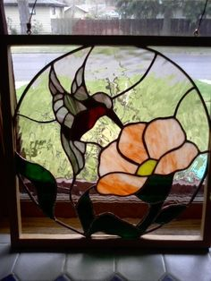 Image result for stained glass ocean bird
