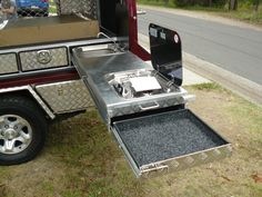 Uteboss aluminium ute canopy photos showing their quality value and style. Auto Camping, Off Road Camping, Truck Camping, Camping Hacks, Camping Knife, Expedition Trailer, Overland Trailer, Accessoires 4x4, Ute Canopy