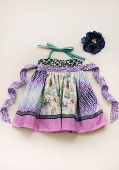 Tiny Terrarium Paneled Eliie Dress $62 Matilda Jane Platinum