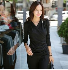 japanese street fashion japanese fashion magazine japan store korean style chinese fashion trendy : Lost heart after a one night stand Korean Sexy Slim Deep V-neck long-sleeved T-shirt japanese street fashion japanese fashion magazine japan store korean style chinese fashion trendy shops Buyer reviews aesthetically pleasing