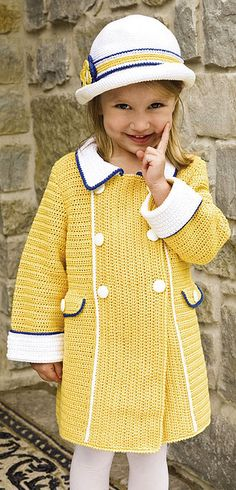 SunnySkies girls coat and hat