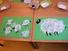 In de onderbouw werken we nu over het thema: jonge dieren in de lente. We zien de lammetjes al huppelen in de wei, en ook andere dieren krij... Ppr, School Themes, Home Schooling, Kindergarten, Crafts For Kids, Spring, Crowns, Animales, Manualidades