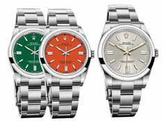 *Blog Update - Read iN!* #Rolex 34, 31 & 28mm Oyster Perpetual iN 2020! Available with 8 Dial Options & a New Caliber Movement!