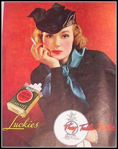 Lucky Strike Vintage Ad