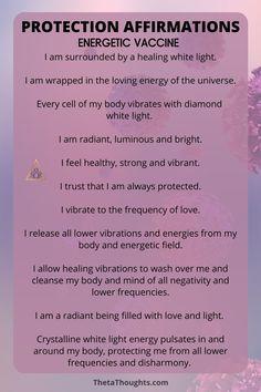 Daily Positive Affirmations, Positive Affirmations Quotes, Affirmation Quotes, Positive Thoughts, Healing Affirmations, Positive Mantras, Reiki Quotes, Manifestation Meditation, New Energy