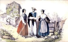 makhila-baton-de-marche-traditionnel-du-pays-basque Painting, Bilbao, Regional, Costume, Ethnic Dress, Suits, Grandparent, Norte, Europe