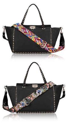 24db538994 Valentino Rockstud Handbags Collection & More Luxury Details #valentinobag  #valentinorockstud Sac À Dos Cuir