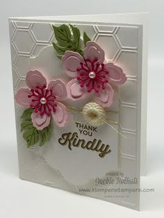 Here is card #2 in this weeks BOTANICAL BLOOMS card series.... So bright and cheery!!!! and easy peasy...... This card also features the PERFECT PAIRINGS Sale-a-bration Stamp Set. This is an