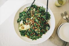 Green Things Salad . Sprouted Kitchen
