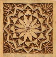 Resultado de imagen para chip carving rosette