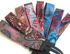 Batch o' Necktie Hairbands | Flickr - Photo Sharing!