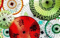I adore parasols and umbrellas...