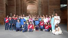 """Alumnos de Segovia inician, con su viaje a Mérida, los viajes escolares de """"Aula de Patrimonio"""", el programa pedagógico de las Ciudades Patrimonio de la Humanidad de España"""