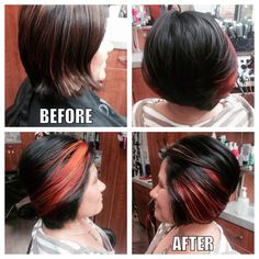 All hair is done by owner, master stylist, and event coordinator Toby Adams